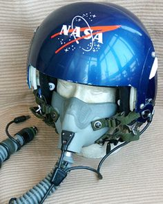 nasa flight helmet