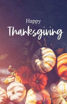 100 Happy Thanksgiving Quotes, Messages, and Wishes! - @BeCentsational