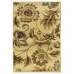 Grace Mariam Cream (Ivory) 1 ft. 10 in. x 2 ft. 10 in. Accent Rug