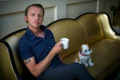 Simon Pegg stars in the soon to be released movie Hector and the Search for Happiness.