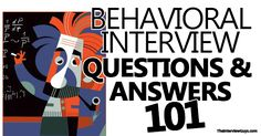 """Behavioral interview questions step-by-step. Includes common behavioral questions, example answers, the star method and a bonus """"behavioral checklist PDF"""".."""