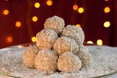 Nepečené sezamové kuličky | Vím, co jím Krispie Treats, Rice Krispies, Lchf, Muffin, Breakfast, Desserts, Food, Morning Coffee, Tailgate Desserts