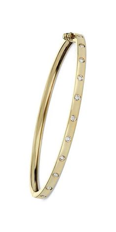You need that perfect something new for your wedding day! Diamond Bangle in Yellow Gold 14k Gold Bangle Bracelet, Diamond Bracelets, Gold Bangles, Silver Bracelets, Jewelry Bracelets, Diamond Rings, Gold Jewellery Design, Gold Jewelry, Blue Nile Jewelry