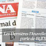 Les Dernières Nouvelles d'Alsace – DNA – parle de nous !