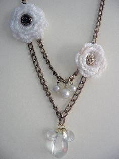 recycled necklace! | Flickr - Photo Sharing!