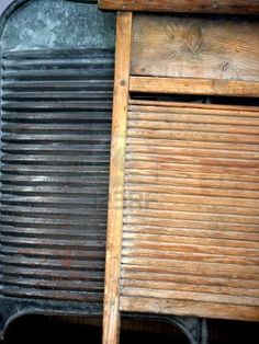 Old Washboards-the laundry had to get done somehow!