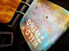 Wild Thing Vintage Wooden School Chair by Love & Rust https://www.facebook.com/pages/Love-Rust/128051613970328?ref=tn_tnmn