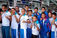 Apoyamos a jóvenes boxeadores que competirán en Colombia