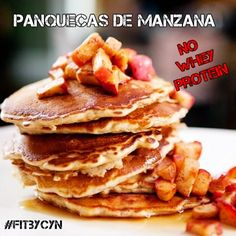 Panquecas de Manzana - FitByCyn