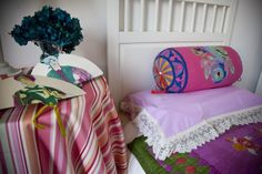 The bedroom in San Giovanni Apartment www.florencewithaview.com