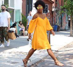Anthropologie Open-Shoulder Dress - Wanderlust, My Way