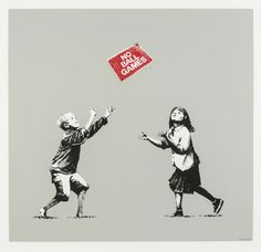 "Banksy ""No Ball Games"""