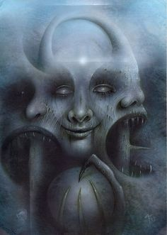 Surreal Horror Art by David A Magitis