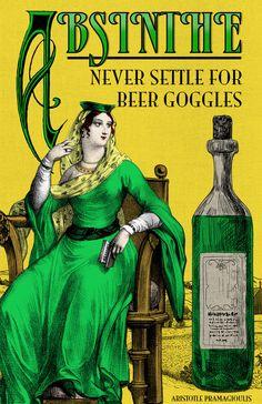 Absinthe Vintage Poster Art Print