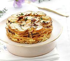 גרסת הפרווה לגראטן חגיגי: עוגת תפוחי אדמה (הגדל)