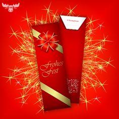 Wunderkerzen - Kundengeschenk oder Give-Away zu Weihnachten und Silvester. Kleines Weihnachtsgeschenk für Kunden.