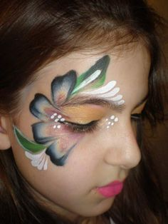 hawaii face painting - Google Search