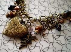 My Steampunk charm necklace has been a pretty popular item.