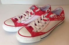 I wantz. Converse Chuck Taylor All Star Hello My Name Is Shoes Size 5 (women's Size 7)