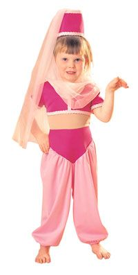 Toddler I Dream of Jeannie Costume - I Dream of Jeannie Costumes