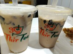 ThirTea from Dunkin Donuts. Wintermelon and Caramel. For the love of milktea. 1-27-17