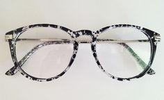 Armação Óculos Grau Estampada                                                                                                                                                                                 Mais