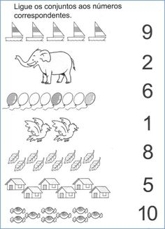Digitalizar0012 English Worksheets For Kids, Kindergarten Math Worksheets, Alphabet Worksheets, Preschool Writing, Preschool Learning Activities, Teaching Kids, Numbers Kindergarten, Numbers Preschool, Worksheet For Nursery Class