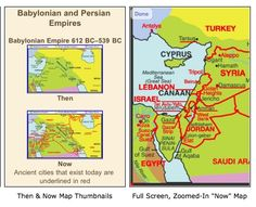 Deluxe Then and Now Bible Maps on iPhone and iPad
