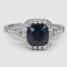 A stunning sapphire.