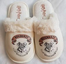 Harry Potter Hogwarts Slippers Laidies Girls Gift mule slippers embroidered logo