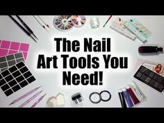 The Nail Art Tools You Need - A Nail Art Guide For Beginners - YouTube