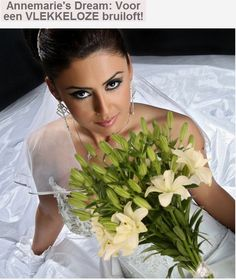 Annemarie's Dream  Perfect white DOUBLE asiatic lily No stamen, so no staines on your weddingdress