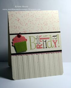 """""""Happiest Birthday Wishes"""" (Hostess, Stampin Up)"""