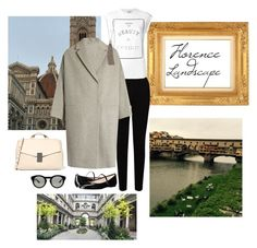 """""""Senza titolo #1508"""" by granatina ❤ liked on Polyvore featuring EAST, Brunello Cucinelli, Givenchy, SJP, Italy, florence and landscape"""