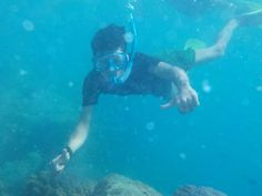 Under sea island seribu indonesia