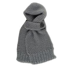 Bagenal Knitted Scarf in Grey
