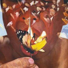 FX Harsono, Taste of Pain (Tiktik Nyeri Series)2008, Acrylic on canvas, 160cm x 160cm. Sold