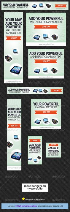 Discount Web Banner Design Template PSD | Buy and Download: http://graphicriver.net/item/discount-web-banner-design/4633382?WT.ac=category_thumb&WT.z_author=admiral_adictus&ref=ksioks