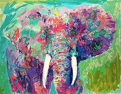 elephant art #beautiful #colorful #artwork