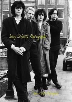 Banshees in Amsterdam 1979
