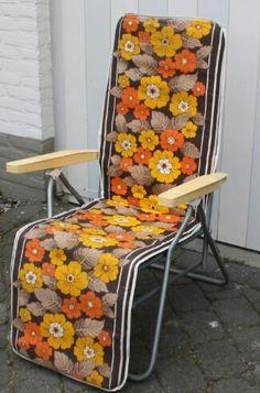 Relaxed en heerlijk zacht in je luie lig tuin/ campeer stoel!