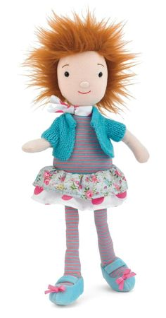 Jelly Cat - Jelly Belle Lily $19.95  This adorable looking doll is soft and huggable with a removable pretty light blue cardigan and has the cutest little shock of orange hair. She loves to hang out with the other Jelly Belles, and together they make a colorful and jolly group of friends.