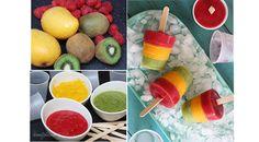 Ricetta ghiaccioli di frutta fai da te