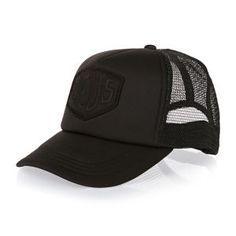 Deus Ex Machina Caps - Deus Ex Machina Baylands Trucker Cap - Black