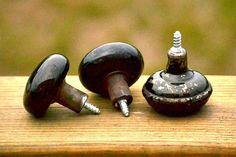 vintage door knob drawer pulls  how to add a screw to a doorknob