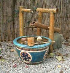 make shishi odoshi fountain - Google Search