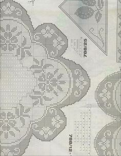 585 Fantastiche Immagini Su Disegni Centrini A Filet Tablecloths