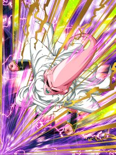 [Captured Wisdom] Super Buu (Piccolo)/Dragon Ball Z: Dokkan Battle Dragon Ball Z Shirt, Dragon Ball Gt, Buu Dbz, Deathstroke Cosplay, Pokemon Fairy, Majin Boo, Goku Super, Anime Crossover, Manga