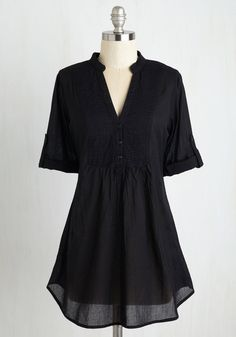 Back Road Ramble Tunic in Black, #ModCloth