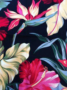 Vintage Hawaiian Print Barkcloth Napkins http://www.creativeboysclub.com/ http://www.creativeboysclub.com/wall/creative